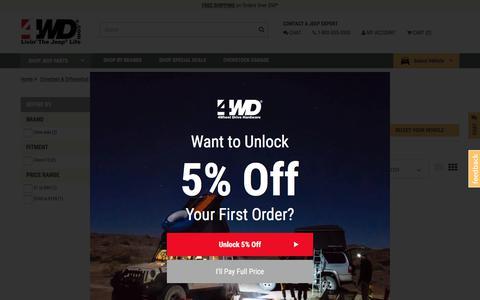Jeep Transfer Case Cover | Transfer Case Cover for Wrangler at 4WD.com