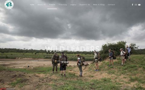 Screenshot of Team Page wildernesstrails.org.za - Leadership - captured Oct. 31, 2018