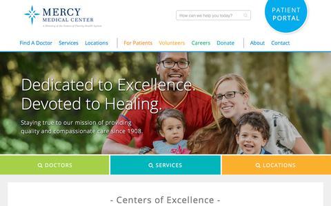 Home - Mercy Medical Center