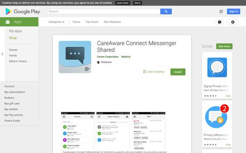 CareAware Connect Messenger Shared - Apps on Google Play