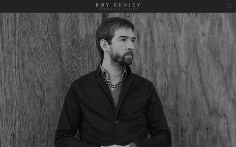 Screenshot of About Page roybenjey.com - Roy Benjey – Portrait and Fashion Photographer – Nashville, TN – Profile - captured Feb. 15, 2016