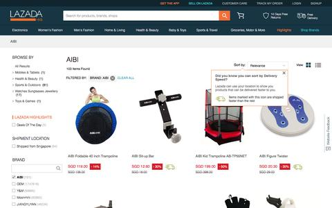 Aibi Singapore - Shop Aibi Gym Equipment | Lazada