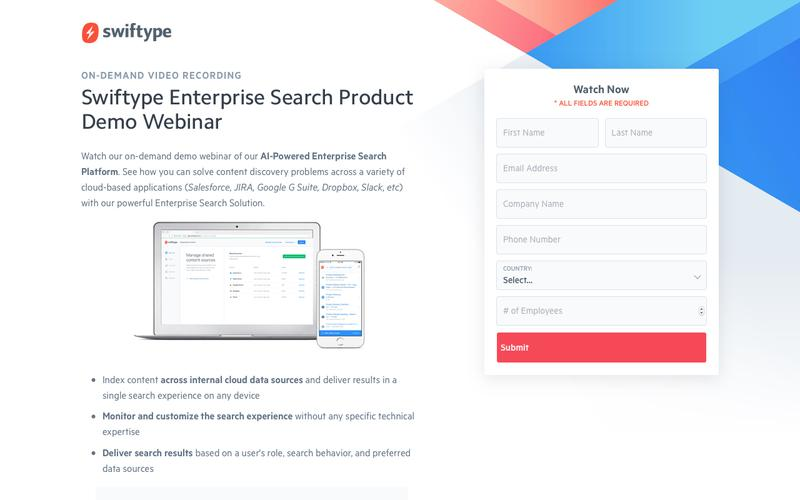 On-Demand Recording: Enterprise Search Product Demo Webinar