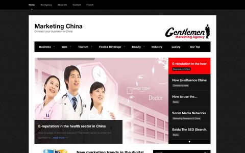 Marketing China - Connect your business to China
