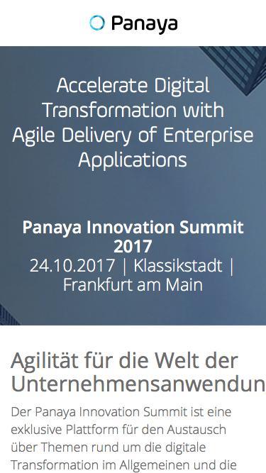Panaya Innovation Summit 2017