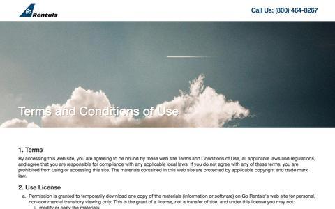 Screenshot of Privacy Page gorentals.com - Luxury Car Rental, SUV Rental, Porsche Rentals, BMW Rental, Mercedes Rental, Escalade Rental, Land Rover Rental, FBO Car Rentals, - Car Rental Agency Go Rentals - captured Nov. 10, 2016