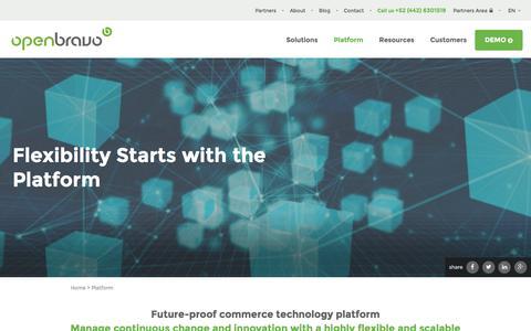 Openbravo Commerce Technology Platform | POS and Retail Management