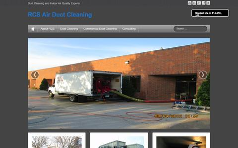 Screenshot of Blog rcsstl.com - RCS Air Duct Cleaning | Duct Cleaning and Indoor Air Quality  Experts - captured Feb. 16, 2016