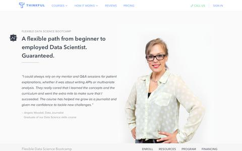 Flexible Data Science Bootcamp · Thinkful