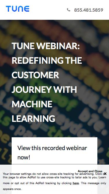 Webinar: Redefining the Customer Journey with Machine Learning