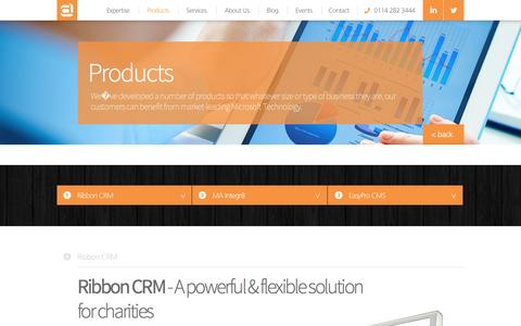 Screenshot of Products Page arkom.co.uk - Products - Arkom Creative Technology - captured Nov. 21, 2016