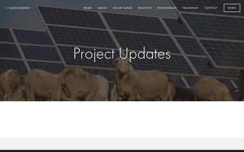 Screenshot of Press Page massenergy.com.au - News — Mass Energy - captured Oct. 17, 2018
