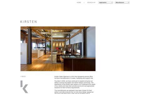 Screenshot of About Page kirstensales.com - Kirsten Sales - captured Oct. 6, 2014
