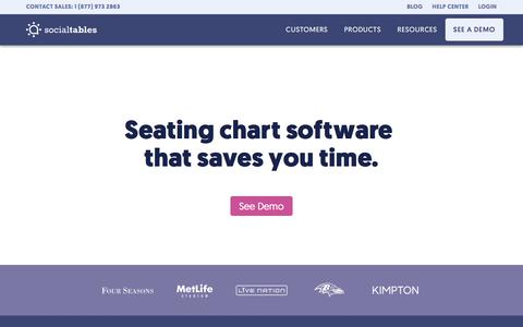 Seating Chart Software That Saves You Time | Social Tables