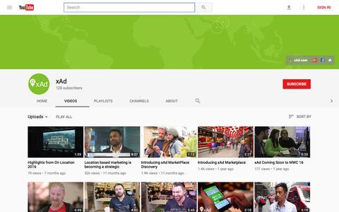 xAd - YouTube