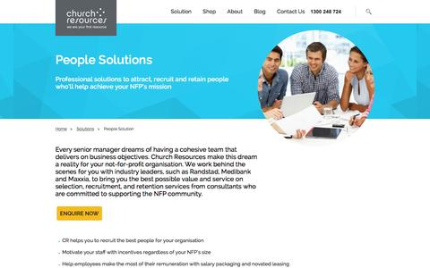 Screenshot of Team Page cr.org.au - People Solutions- Tailored Advice and Services | CR - captured Jan. 28, 2016