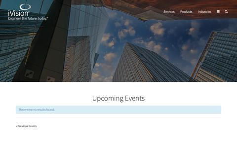 Events Archive - iVision