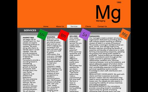 Screenshot of Services Page mg-help.com - MGHELPLLC | Services - captured Oct. 18, 2018