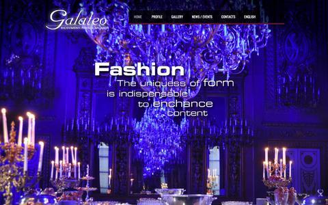 Screenshot of galateoricevimenti.com - catering banqueting matrimoni feste organizzazione eventi | Galateo Ricevimenti – Firenze Milano - captured Dec. 7, 2018