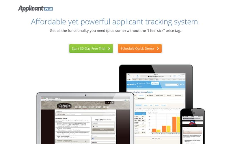 Applicant Tracking System - ApplicantPro
