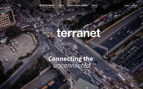 Screenshot of Press Page terranet.se - Press - Terranet - captured Sept. 22, 2018
