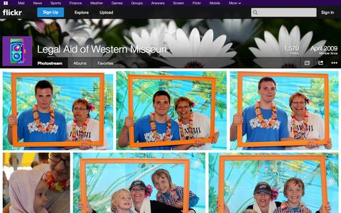 Screenshot of Flickr Page flickr.com - Flickr: Legal Aid of Western Missouri's Photostream - captured Oct. 22, 2014