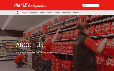 Coca-Cola Enterprises      : CCE Overview