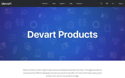 Products | Devart