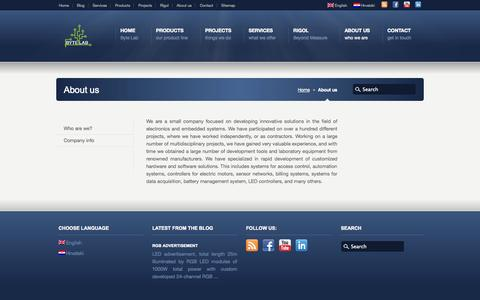 Screenshot of About Page byte-lab.com - About us «  Byte Lab - captured Sept. 30, 2014