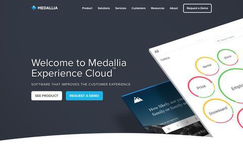 Medallia Home - Medallia