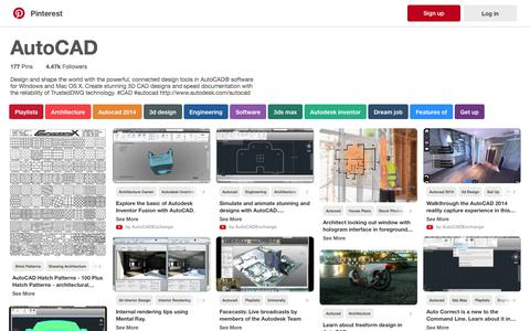 177 best AutoCAD images on Pinterest | Playlists, Architecture and Autocad 2014