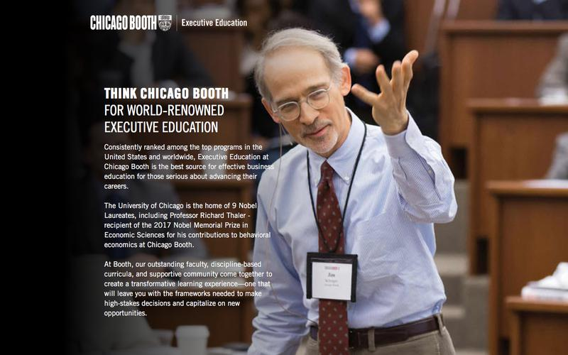 Executive Education at Chicago Booth | Open Programs