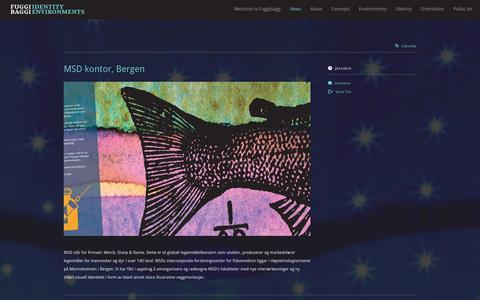 Screenshot of Press Page fuggibaggidesign.com - News - FuggiBaggi - captured Oct. 6, 2014