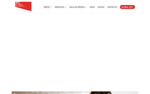 Screenshot of Home Page etl.es - ETL Global | Firma Internacional de Asesoramiento y Consultoría - captured April 10, 2019