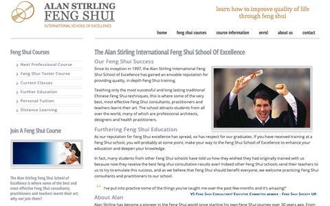 Screenshot of About Page feng-shui-school.com - Feng Shui Master Teachers - captured Oct. 30, 2018