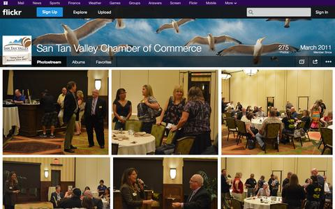 Screenshot of Flickr Page flickr.com - Flickr: San Tan Valley Chamber of Commerce's Photostream - captured Oct. 25, 2014