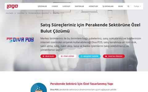 Diva Pos | Perakende Bulut ve SaaS Çözümleri | Logo Yazılım