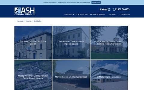 Screenshot of Case Studies Page ashproperty.co.uk - Property Case Study Gloucestershire - ASH Property - captured Nov. 19, 2016