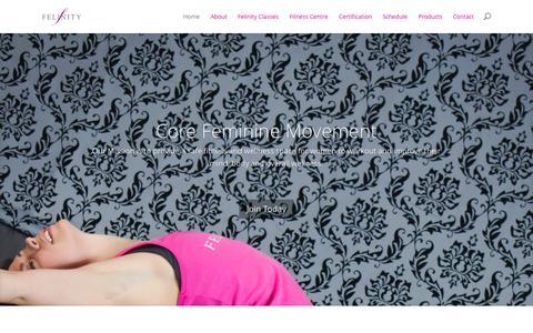Screenshot of Testimonials Page felinity.ca - Felinity   Just another WordPress site - captured Oct. 5, 2014