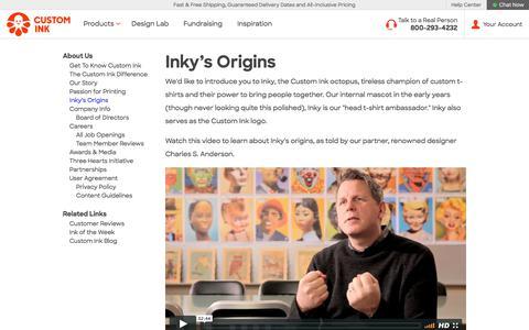 Inky's Origins