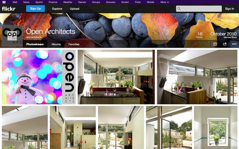Screenshot of Flickr Page flickr.com - Flickr: openarchitects' Photostream - captured Oct. 26, 2014