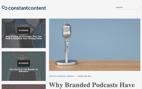Constant Content – Download Articles, Tutorials, Product Reviews, and all types of content that you can add to your website.
