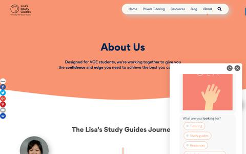 Screenshot of About Page vcestudyguides.com - About Us | VCE Study Guides - captured Oct. 20, 2018