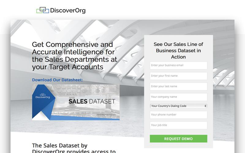 Accurate Business Intelligence on Sales Prospects | DiscoverOrg