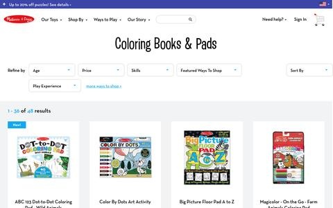 Coloring Books & Pads choices