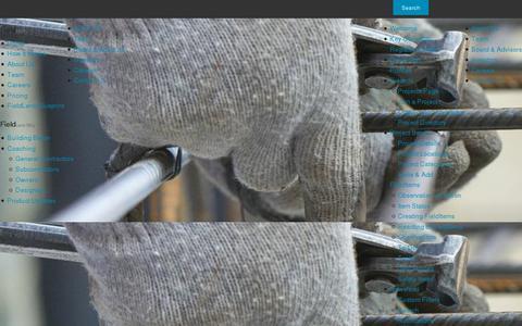 Screenshot of Team Page fieldlens.com - FieldLens Management Team - captured July 20, 2014
