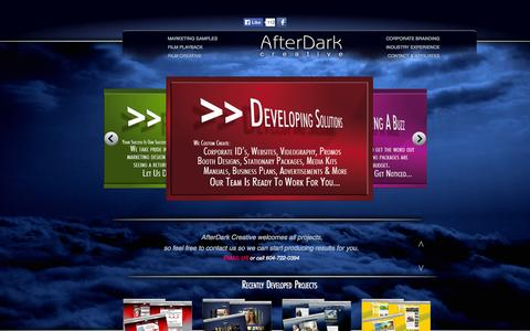 Screenshot of Testimonials Page afterdarkcreative.com - HACKED BY DANKSUO - captured Oct. 29, 2014