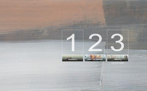 Screenshot of Home Page deljouartgroup.com - DAG - Deljou Art Group - captured June 21, 2015