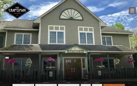 Screenshot of About Page craftsmaninn.com - Learn More About the Craftsman Inn in Fayetteville NY - captured Oct. 31, 2018