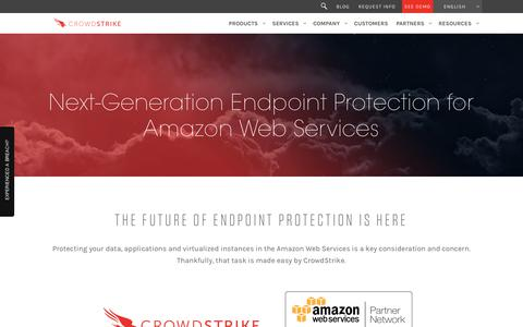 Amazon Web Services and CrowdStrike